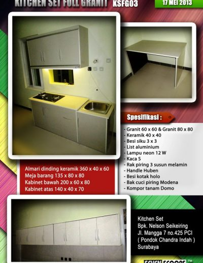 Kitchenset Full Franit 04