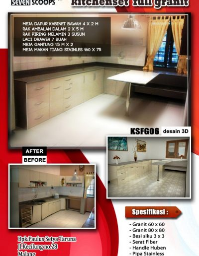 Kitchenset Full Franit 06