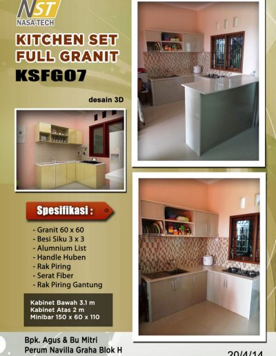 Kitchenset Full Franit 07