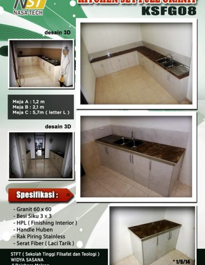 Kitchenset Full Franit 08