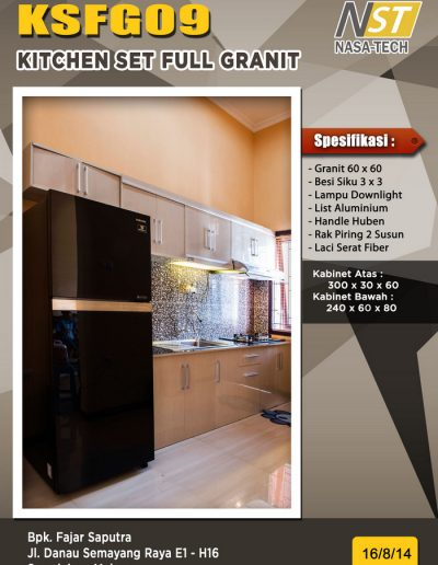 Kitchenset Full Franit 09