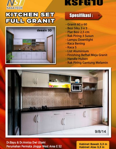 Kitchenset Full Franit 10