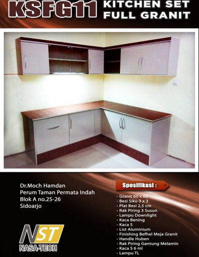 Kitchenset Full Franit 11