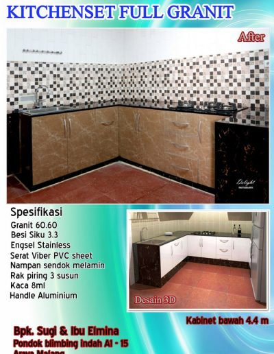Kitchenset Full Franit 13