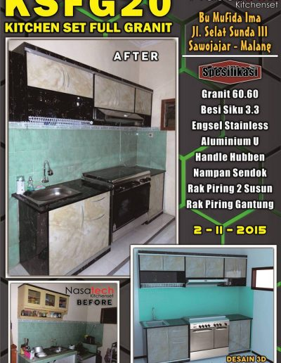 Kitchenset Full Franit 19