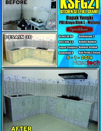 Kitchenset Full Franit 20