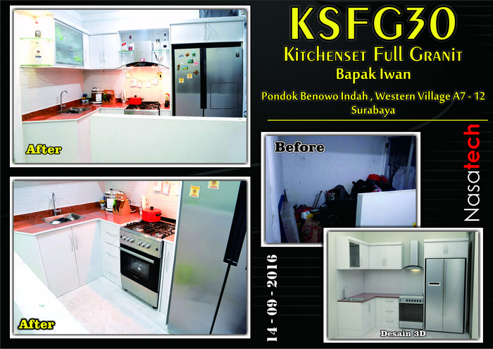 Kitchenset Full Franit 29