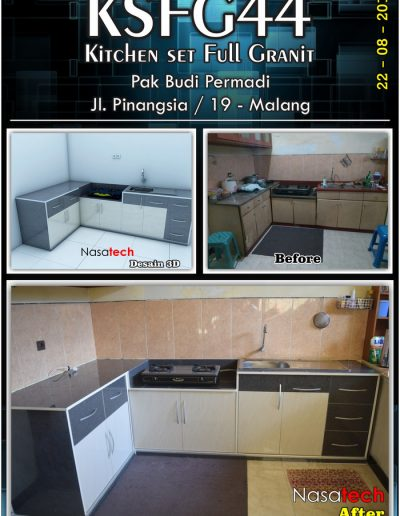 Kitchenset Full Franit 41