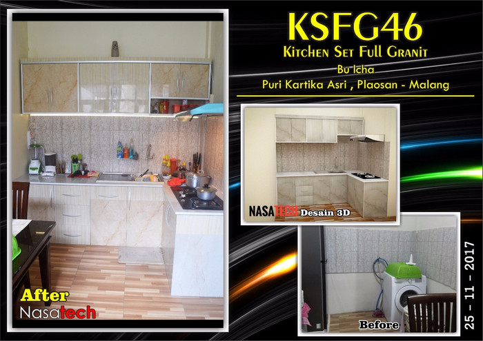 Kitchenset Full Franit 43