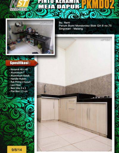 Pintu Keramik Meja Dapur 01