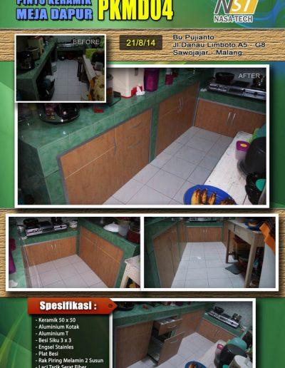 Pintu Keramik Meja Dapur 03