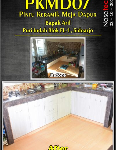 Pintu Keramik Meja Dapur 05