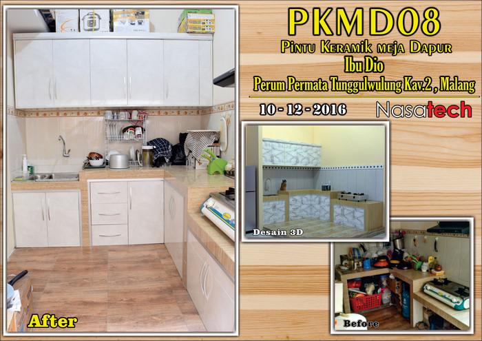 Pintu Keramik Meja Dapur 06