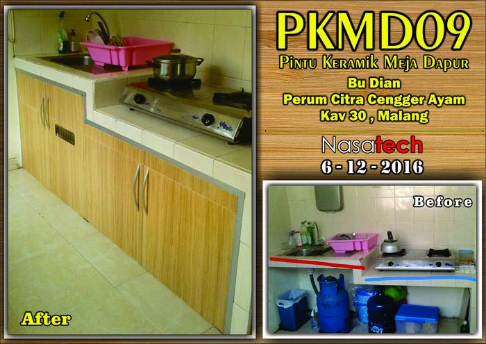 Pintu Keramik Meja Dapur 07