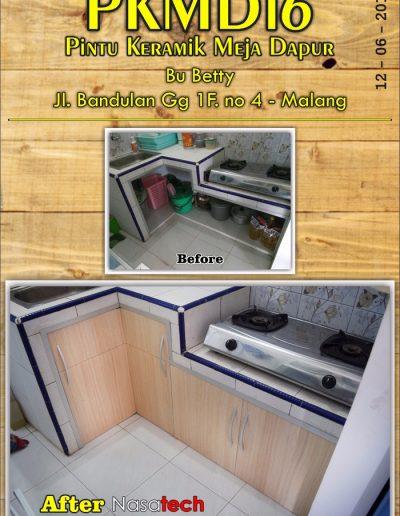 Pintu Keramik Meja Dapur 14