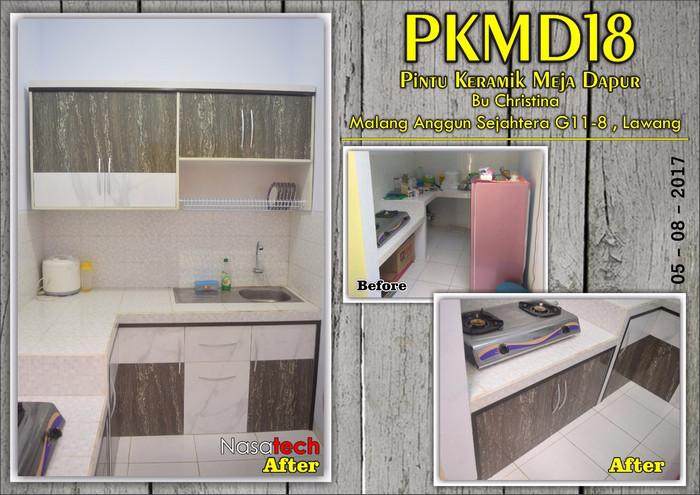 Pintu Keramik Meja Dapur 16