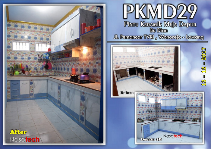 Pintu Keramik Meja Dapur 27