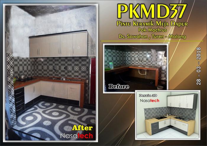 Pintu Keramik Meja Dapur 34